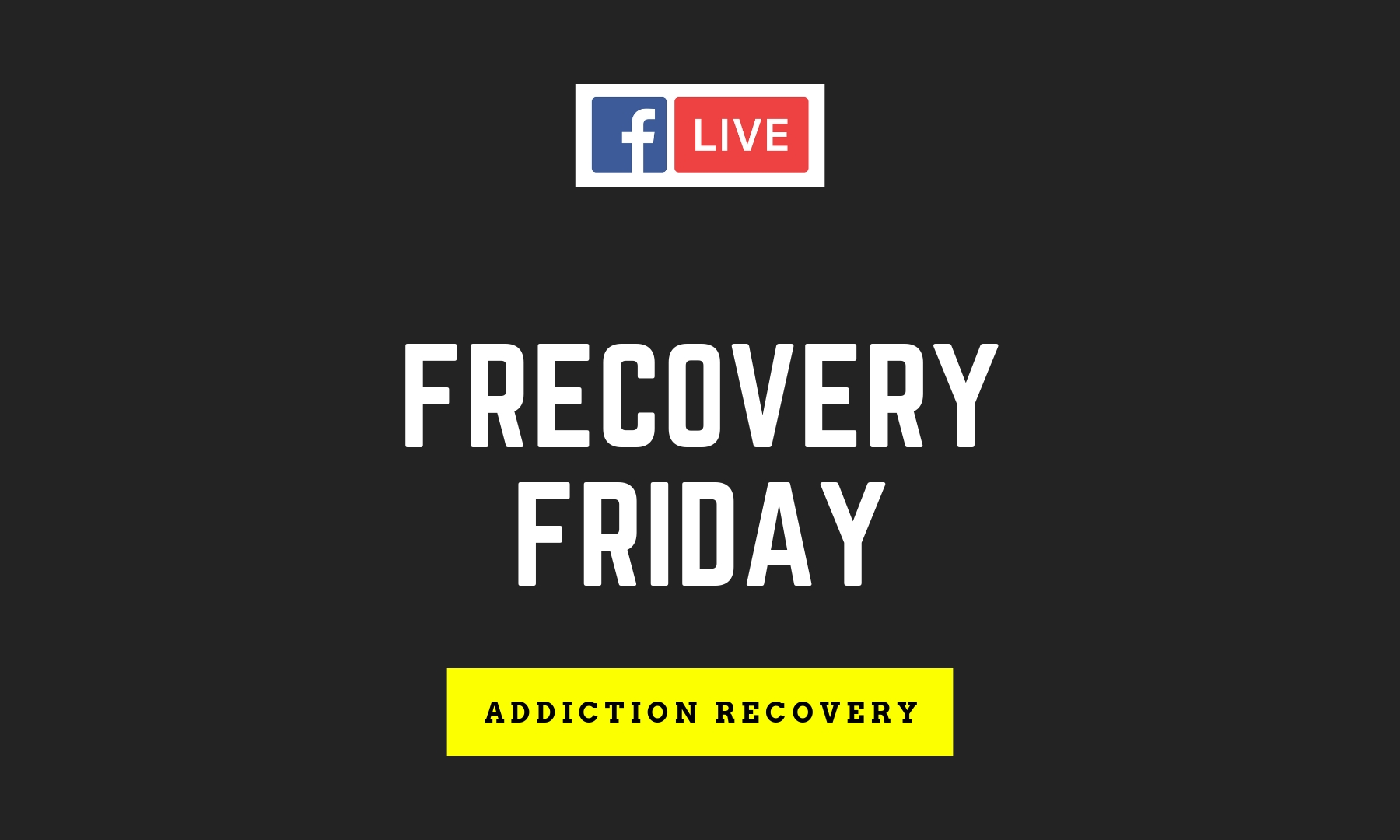 Facebook Live: Frecovery Friday Mindy Andrade – BluNovus