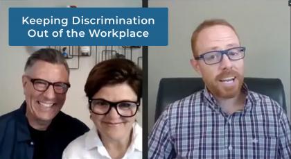 Anti-discrimination webinar