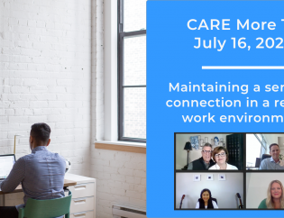 Maintaining a sense of connection in a remote work environment webinar image