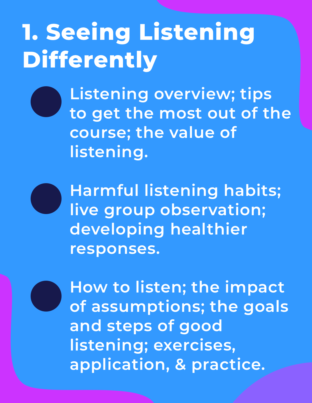 Seeing Listening Differently